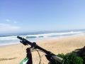 Mountain biking the beaches
