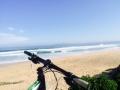 Mountain biking the beaches